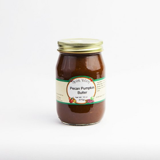 Spirit Valley Pecan Pumpkin Butter-18 oz