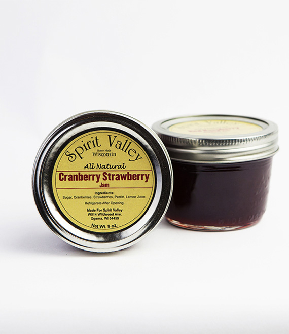 Spring Valley Cranberry Strawberry Jam-9oz