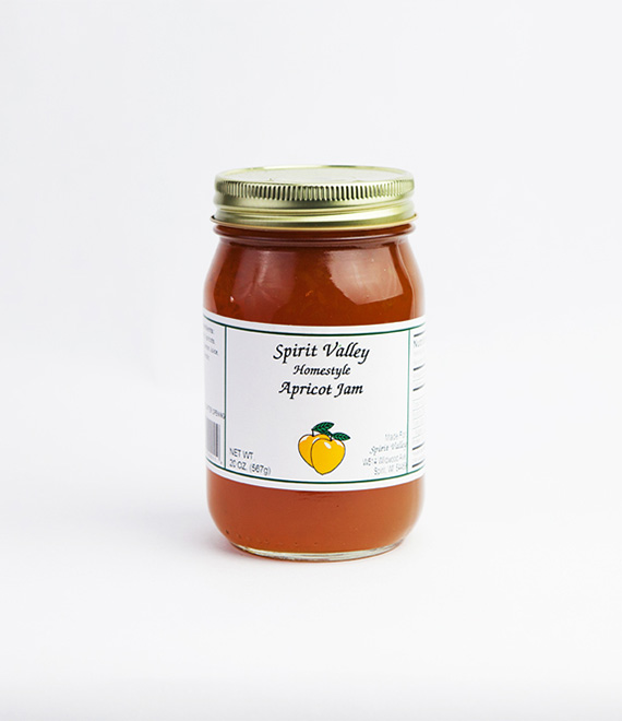 Spirit Valley Apricot Jam-20oz