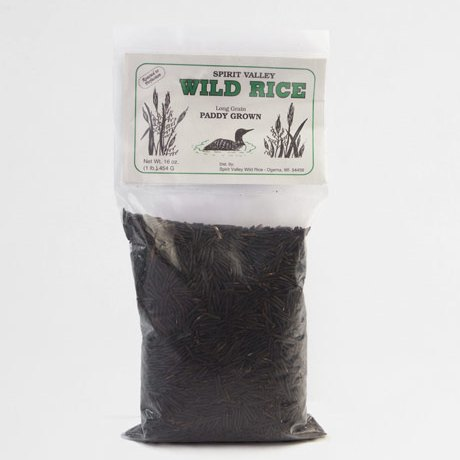 Spirit Valley Long Grain Wild Rice 1 lb.