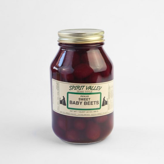 Pickled Sweet Baby Beets 32 oz.