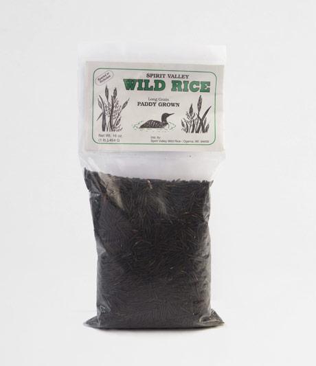 Spirit Valley Long Grain Wild Rice 1 lb.