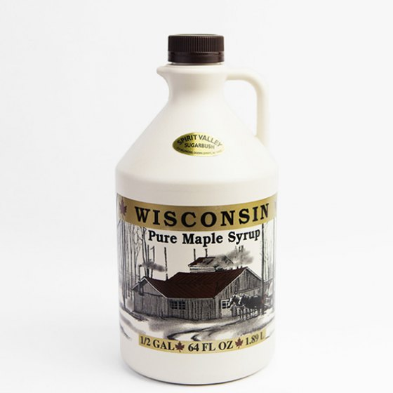 Spirit Valley Wisconsin 100% Pure Maple Syrup-64 oz.