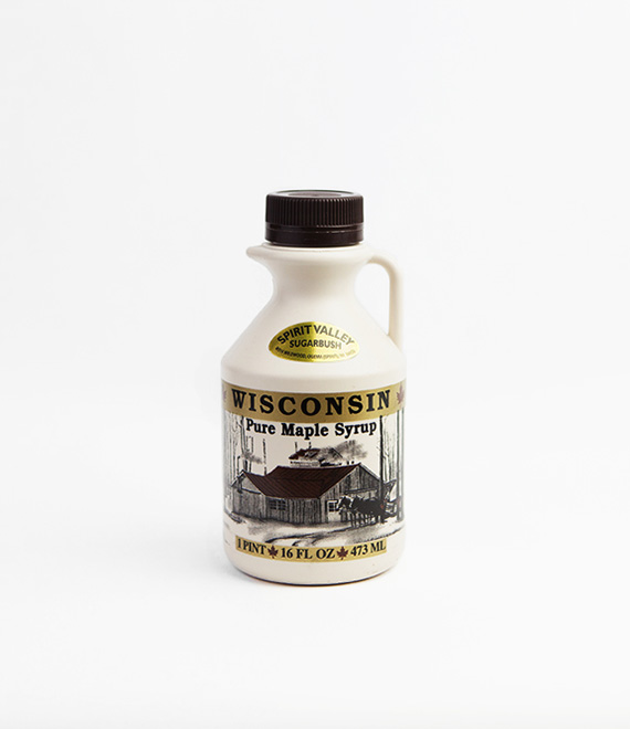 Spirit Valley Wisconsin 100% Pure Maple Syrup-16 oz.