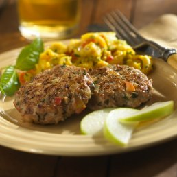 Chicken Apple Basil Sausage Patties