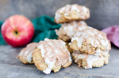 Aunt Odie's Fresh Apple Glazed Cookies