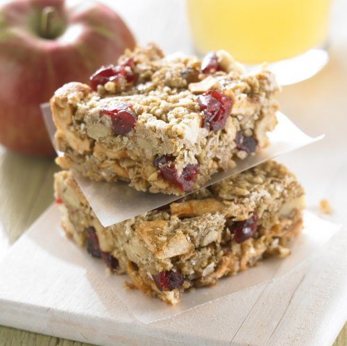 Apple-Cran Granola Bars