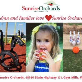 Children and Families LOVE Sunrise Orchards