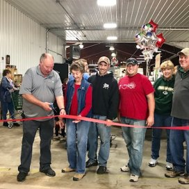 Ribbon Cutting, NEW retail addition, Fall 2018