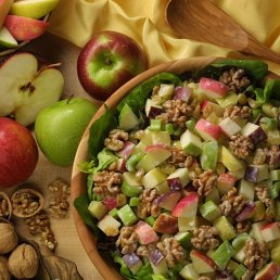 Low Fat Apple Waldorf Salad