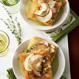 Savory Onion and Apple Tart