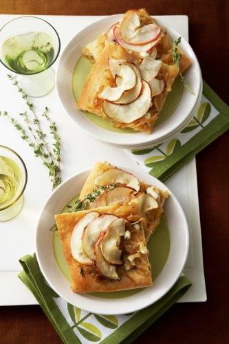 Savory Onion and Apple Tart
