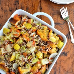 Apple Sweet Potato Gratin With Pecans
