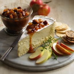 Apple, Ginger and Cherry Chutney