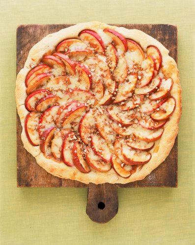Apple Cheddar Pizza with Toasted Pecans