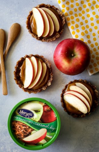 Mini Caramel Apple Tarts