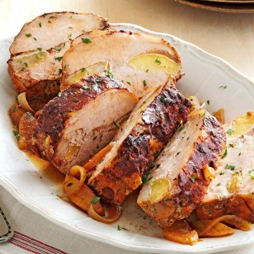 Apple Cinnamon Pork Loin