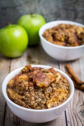 Apple Crisp - Gluten Free!