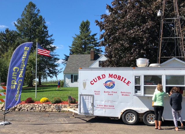 Curd Mobile at Sunrise Orchards