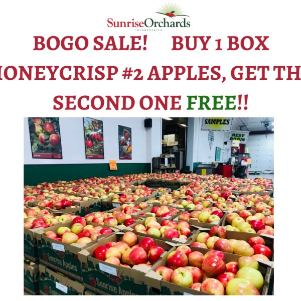 Honeycrisp Sale!