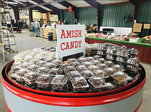 Amish Candy at Sunrise Apple Store