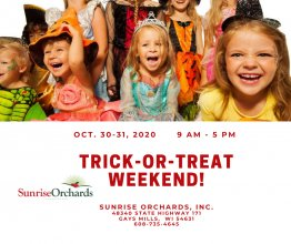 Trick-or-Treat Weekend 9 am - 5 pm