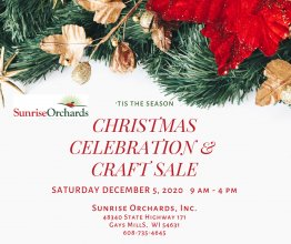 CANCELLED: Christmas Celebration at Sunrise Orchards Dec. 5th